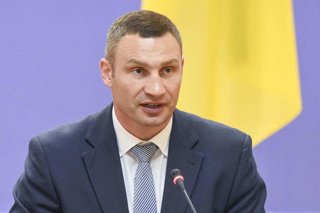 Кличко: Київ - чемпіон з ремонту доріг в Україні